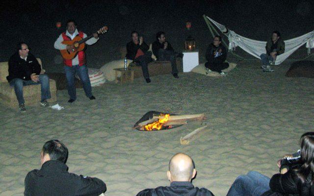 Camping Desierto de Huacachina