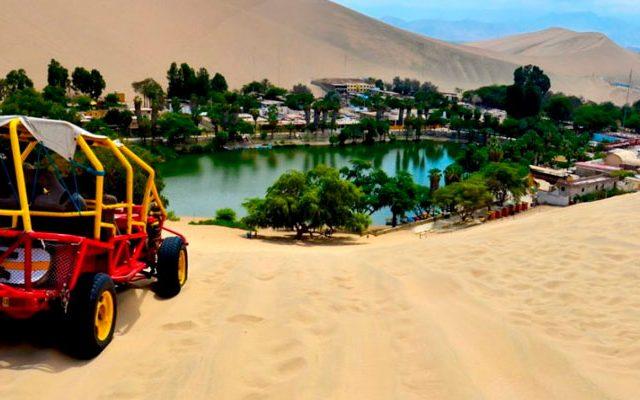 Full day Islas Ballestas Reserva Nacional de Paracas Tour de Tubulares Sandboarding Huacachina